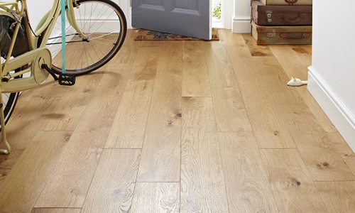 Engineered Brushed Matt Lacquer Flooring - supplied and fitted by Northern Flooring