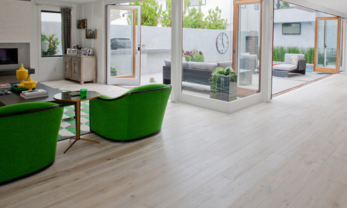 Solid White Oak Flooring - supplied and fitted by Northern Flooring